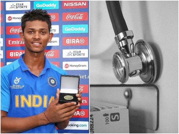 করোনা লড়াইয়ে ডাক্তার-নার্সদের ধন্যবাদ,কী বার্তা দিলেন অনূর্ধ্ব-১৯ বিশ্বকাপ সেরা ক্রিকেটার