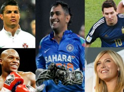 Dhoni Named World S 9th Most Marketable Star Check The Full List Here