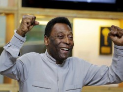 Brazilian Football Legend Pele Arrives Kolkata After 38 Years