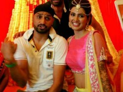 Harbhajan Singh Actress Geeta Basra Look Amazing Mehendi Marriage