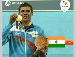 Devendra Jhajharia Smashes Javelin World Record Win Paralympic