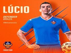 Isl Fc Goa Re Sign Lucio As Marquee Player