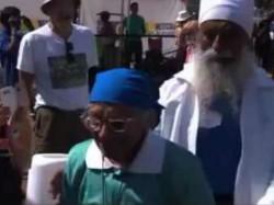 No Hurry As India S Inspirational Centenarian Wins Gold