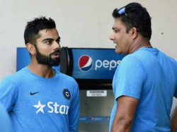 Kohli Is Not At Interested Kumble S Second Innings