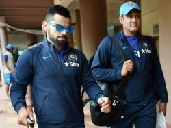 Kumble Stays On As Coach Till West Indies Tour