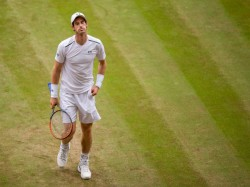 Andy Murray Crashes Of Wimbledon Sam Querrey