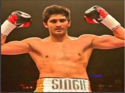 Unstoppable Vijender Indian Boxer Vijender Singh Claims 12th Successive Professional Win