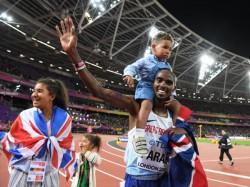 Mo Farah Wins Gold His Last 10 000 Metre Run