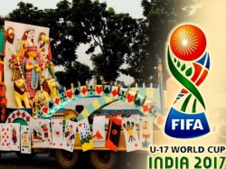 Kolkata Is Ready Host Immersion Carnival With Twist World Cup Touch