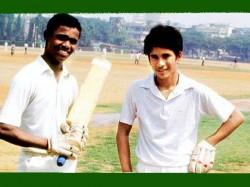 After Several Years Sachin Meets Kambli It S Awsome