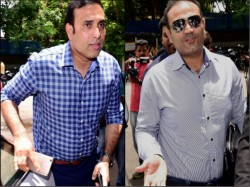 Laxman Turns 43 Gets Wishes But He Wishes Virender Shewag For His Achivment