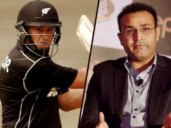 Twitter Fight Between Ross Taylor Virendra Shewag Is On Shewag Has The Last Laugh