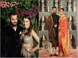 Virushka Again Mesmerized Fans Their Look 2nd Reception Is