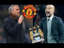 Manchester United Manchester City Presents Wonderful Footbal