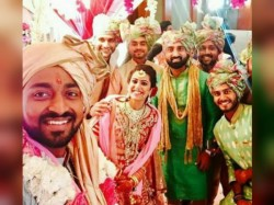 Sachin Become The Centre Attraction Krunal Pandya S Marriage