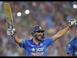 India Vs Sri Lanka Rohit Sharma Hits 3rd Double Century