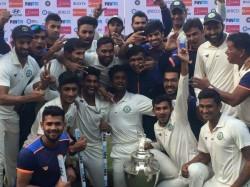 Vidarbha Become The New Champion Ranji Trophy