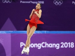 Mirai Nagasu Becomes The First American Woman Land Triple Axel In The Olympics