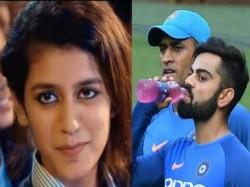 Priya Prakash Varrier Rocks Internet Now Team India Has Been Associated With This Wink Girl