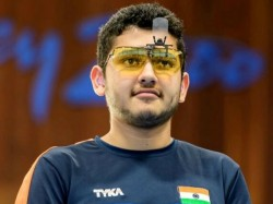 Tejaswini Sawant Anish Bhanwala Wins Gold Commonwealth Games 2018 For India