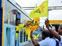 Ipl 2018 Csk Franchise Organises Special Train Fans Watch Match Pune