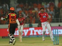 Ankit Rajpoot Hurling Abuses At Shikhar Dhawan Kxip Vs Srh Match