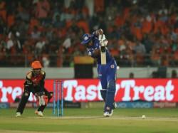Ipl 2018 Mumbai Indians Scores Runs 20 Overs Against Sunrisers Hyderabad