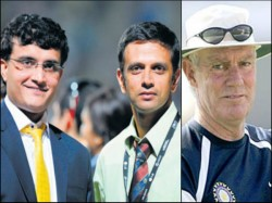 Rahul Dravid Had No Role Greg Chappell S Decision Remove Me Says Sourav Ganguly