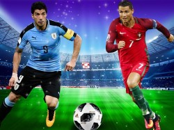 Statistics Ronaldo Suarez Before Their Pre Quarter Final Match Fifa World Cup