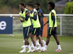 Focus On Neymar As Brazil Arrive Russia Play Fifa World Cup