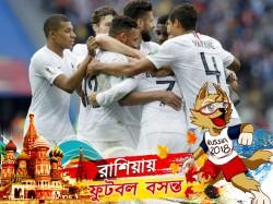 France Beats Uruguay Quarter Final Match 2 0 Margin 2018 Fifa World Cup