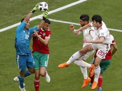 Morocco Gifts The Match Iran Fifa World Cup