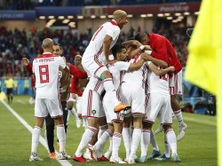 Morocco Consecutive Loses Their Second Match Good Bye World Cup