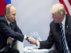 Donald Trump Hails Vladimir Putin S Russia S World Cup Organisation