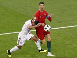 Ronaldo Is Selected Man The Match Against Morocco Fifa World Cup