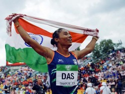 Hima Das Posts Inspiring Message On The Eve 72nd Independence Day