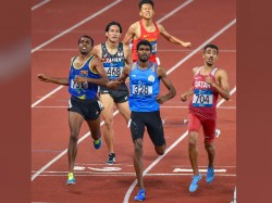 Asian Games 2018 India Win Silver Medal Men S 4 X 400m Relay Event