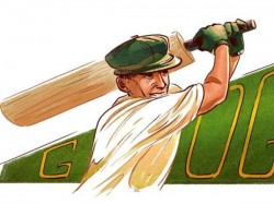 Google Remembers Made Doodle On Don Bradman S 100th Birthday