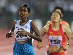 India S Pu Chitra Wins Bronze Medal Asian Games 1500 Mt Fina