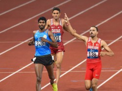 Asian Games 2018 Jinson Johnson Wins Men S 1500m Final