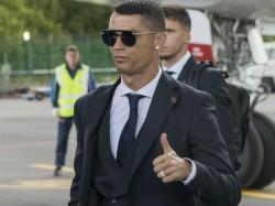 Cristiano Ronaldo Scored His First Goal Juventus Fc Jersey