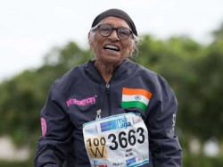 Year Old Indian Athlete Wins Gold Medal 200m At World Masters Athletics Championships