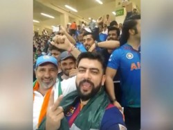 Watch Video Indian Pakistani Supporters Slogan Together Asia Cup