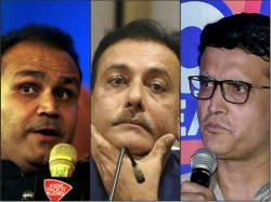 Ganguly Sehwag Hit At Shastri After India S Series Defeat England