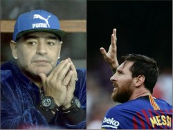 Diego Maradona Lashes At Lionel Messi Again Said He Is Not A Leader