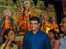Cricketers Wish Happy Navratri Or Happy Puja On Twitter