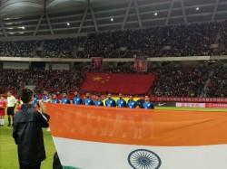 India Vs China Fifa Friendly Match Report China Fail Breach Indian Defence