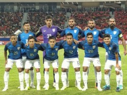 India Vs China Fifa Friendly See The Reactions From The Footballers