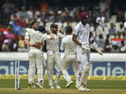 India Vs West Indies Hayderabad Test Match Report At End Day