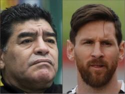 Maradona S Opinion Messi Should Retire From Argentina Duty
